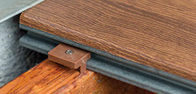 Rinato Premium Deck Boards Dark Oak Fixing