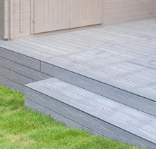 Rinato Decking Premium Range - Dark Oak